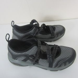 Chaco Outcross Evo Mary Jane Shoes Gray Womens 8.5